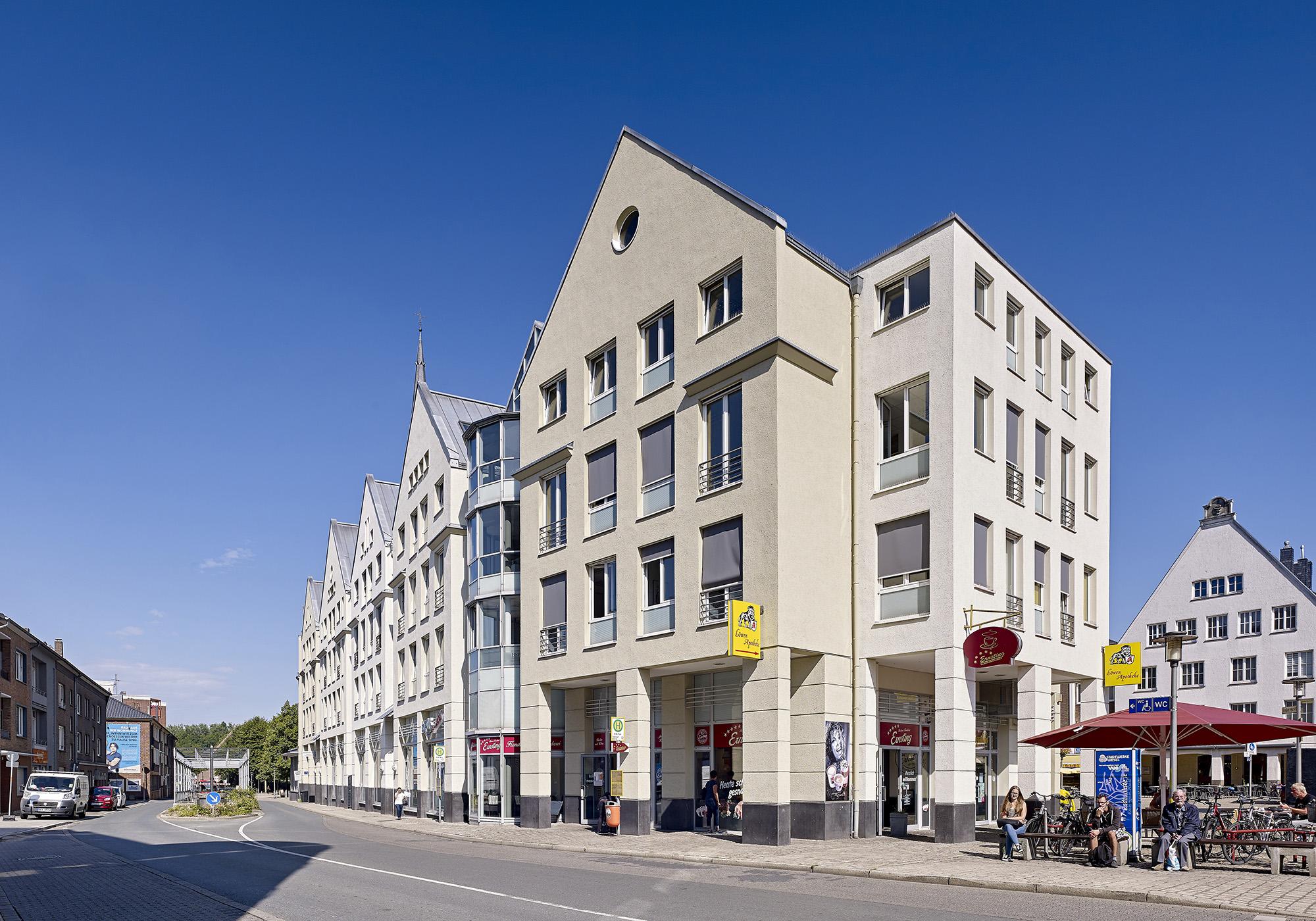Fassadensanierung Trappzeile, Großer Markt, 46483 Wesel